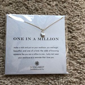 Dogeared on in a million unique necklace